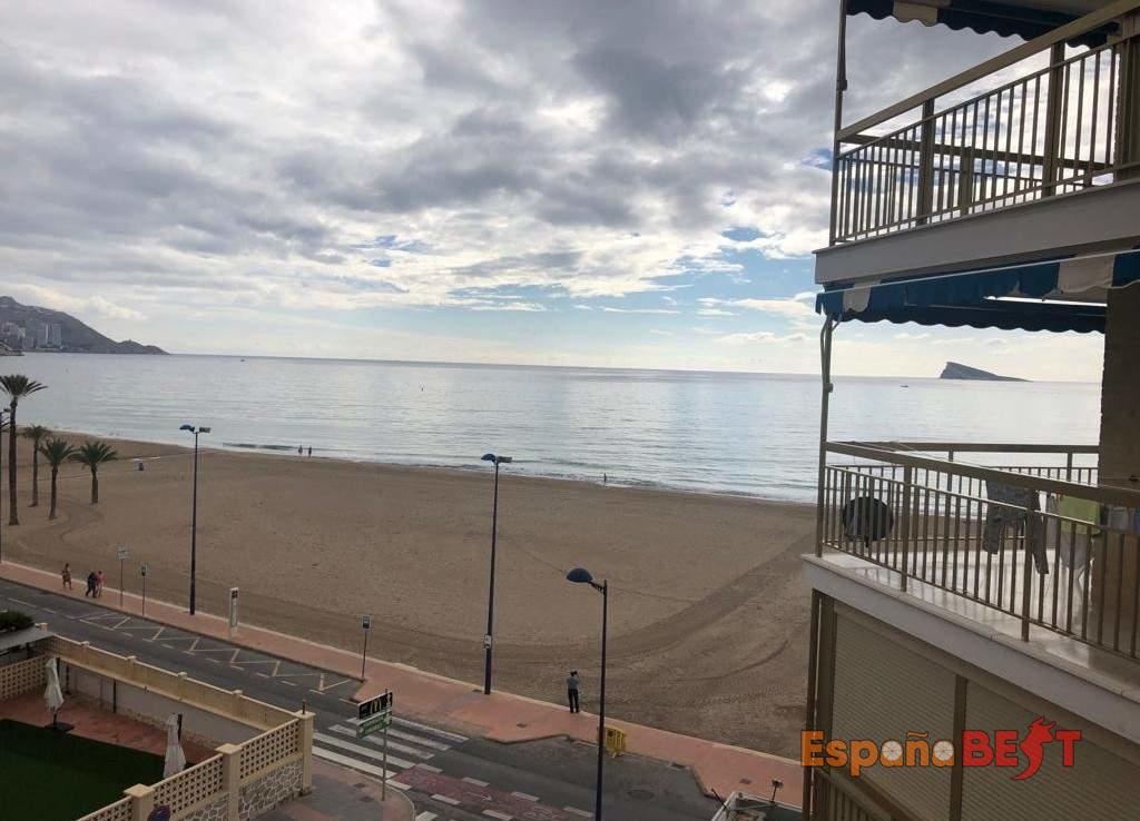 Квартира Бенидорм (1-я линия пляжа Пониенте) ID 7.41